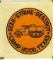 Halftrack Decal fort Hood