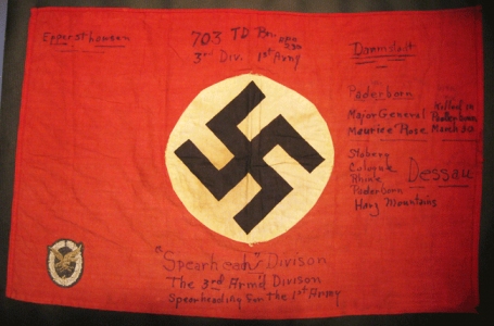 703rd Andrew Phillips pocket flag