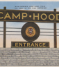 Camp Hood Sign   Card Image