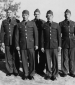 703rd  5 soldiers posing Camp Polk 1942