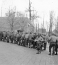 814th Chow Line Christmas 1944 2