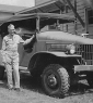 814th Ed Cullen and Jeep July 1942 Camp Polk