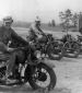 814th Motorcycle riders at Camp Polk