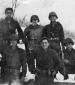 808th Bruce E. Pence with six soldiers