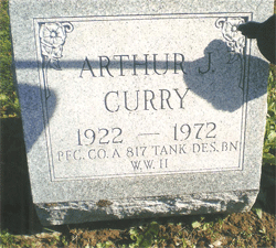Arthur-J-Curry-Gravestone