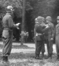 5th Soldiers receiving Awards