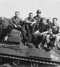 661st Julius R. Slopek 2nd from right  and his gun crew
