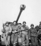 661st Four soldiers in front of TD